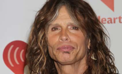 Steven Tyler Defends Shower Mishap, Pledges Sobriety