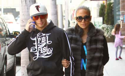 Jennifer Lopez Buys Casper Smart a Birthday Truck