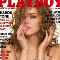 Sharon Stone Playboy Cover
