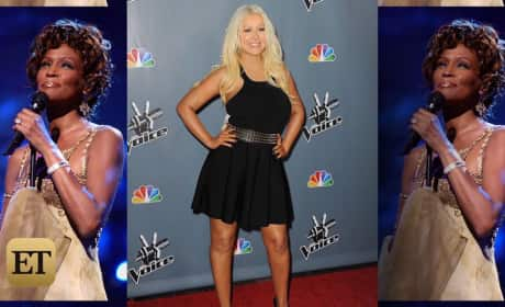 Christina Aguilera: Performing Duet With Whitney Houston Hologram on The Voice??