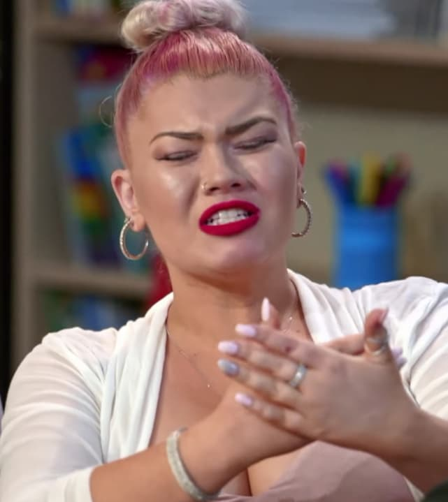 Amber portwood gets angry