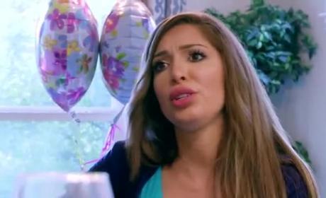 Farrah Abraham Cries Over Simon Saran