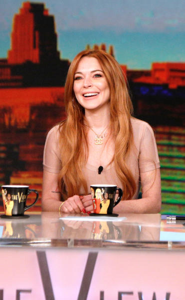 Lindsay Lohan on The View