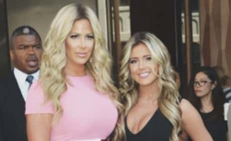 Kim and Brielle Zolciak