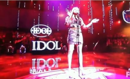 "Breanna Steer Possesses ""Flaws & All"" on American Idol"