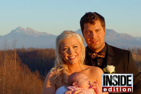 Levi Johnston, Sunny Oglesby Wedding Photo
