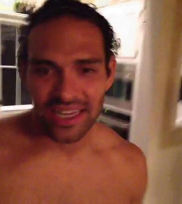 Mark Sanchez Shirtless