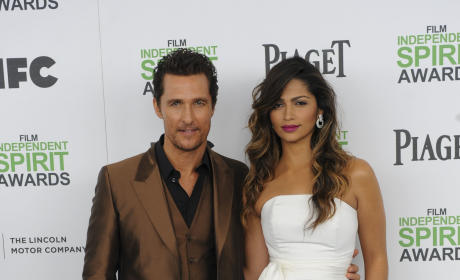Matthew McConaughey and Camila Alves - 14 Years