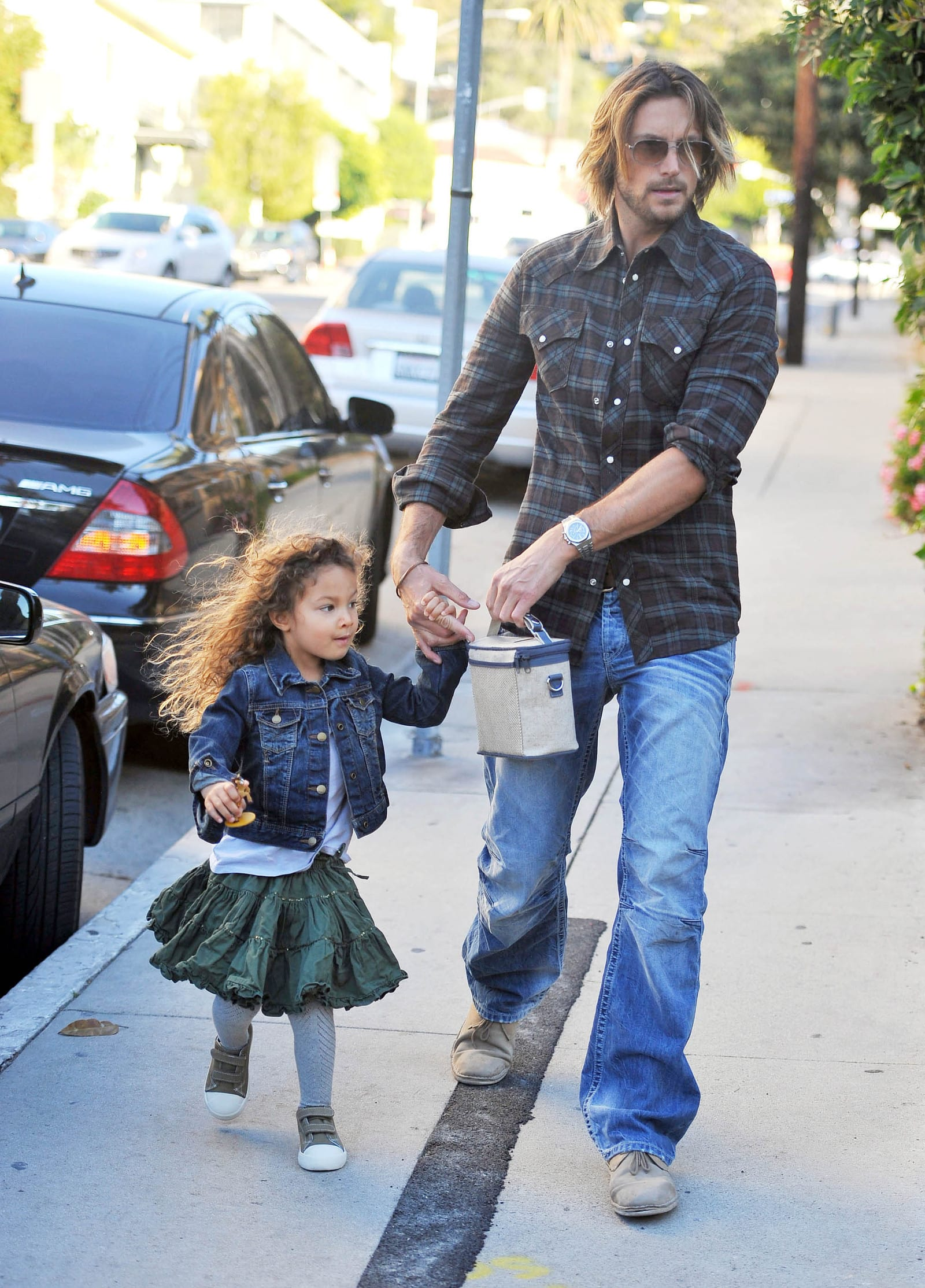 Gabriel Aubry Denied Access To Daughter The Hollywood Gossip