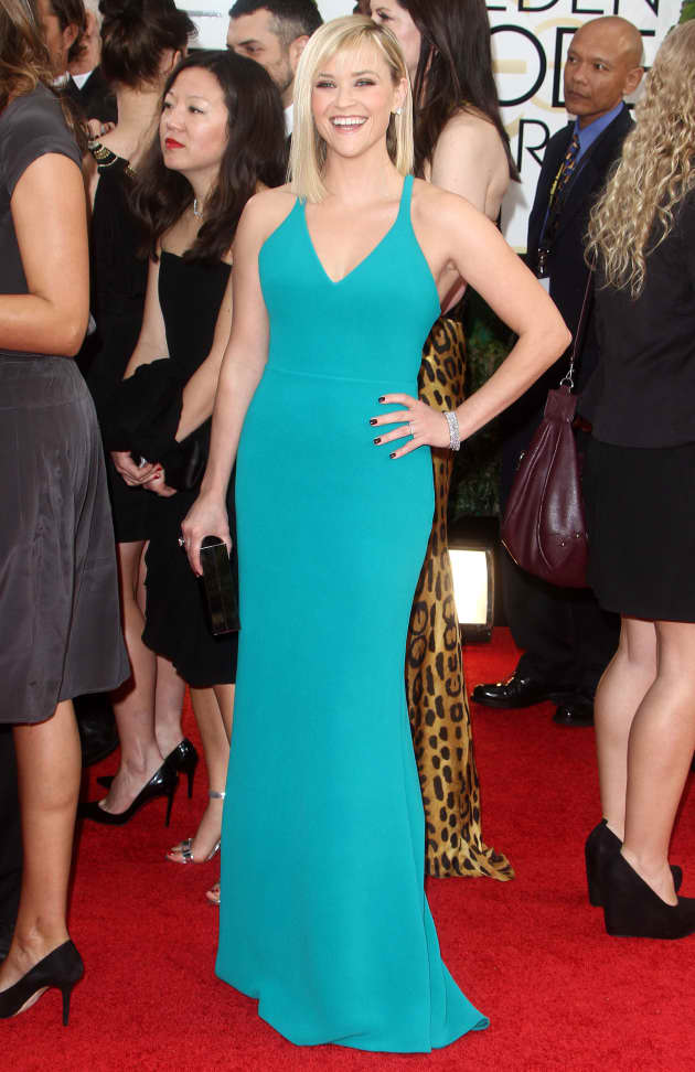 Reese Witherspoon at 2014 Golden Globes