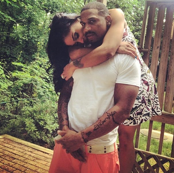 Stevie J with Joseline