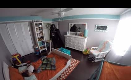 Totally Awesome Father Awakens Son as Darth Vader