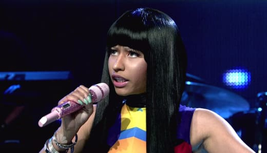 Nicki Minaj on SNL