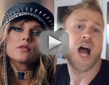 Spencer pratt mocks the heck out of taylor swift music video