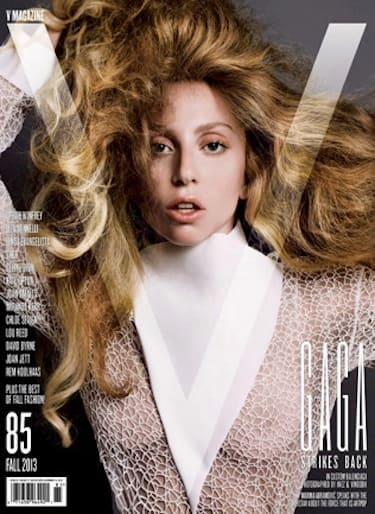 Lady Gaga V Magazine Cover