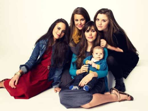 Four Duggar Girls, One Duggar Baby