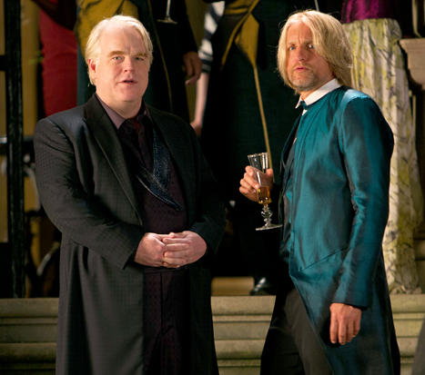 Philip Seymour Hoffman in The Hunger Games