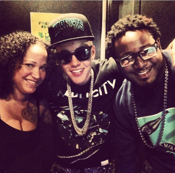 Justin Bieber and T-Pain