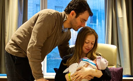 Chelsea Clinton Baby Photo