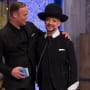 Matt & Boy George on Celebrity Apprentice Finale
