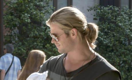 Chris Hemsworth, Baby
