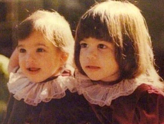 Kim and Kourtney Baby Photo