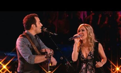 Joshua Davis and Sheryl Crow - Give It to Me (The Voice Finale)