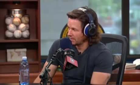 Mark Wahlberg Raps For His Daughter