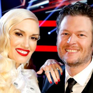 Gwen and Blake Happy