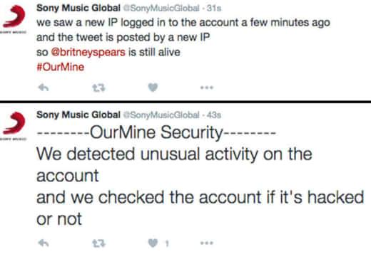 Sony Tweeted