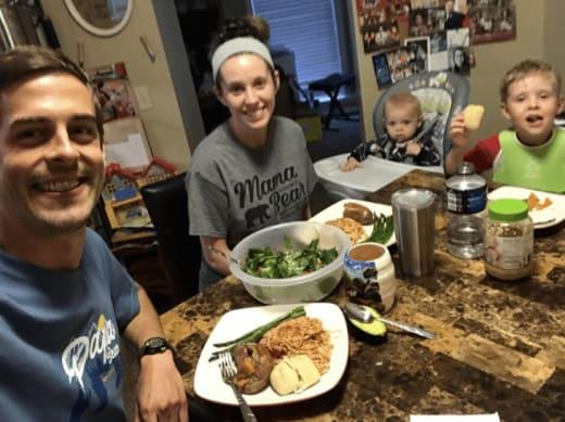 The Dillards at Dinner