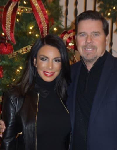 Marty Caffrey and Danielle Staub