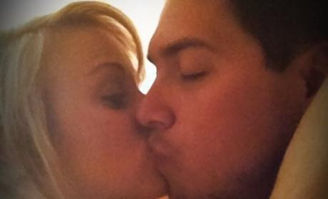 Leah Messer and Jeremy Calvert Kiss