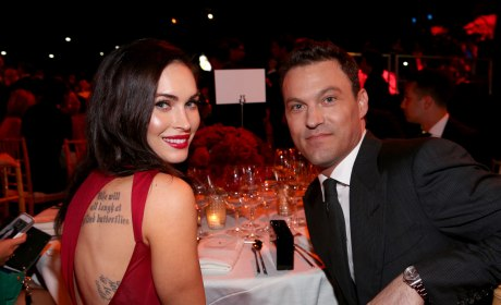 Megan Fox with Brian Austin Green