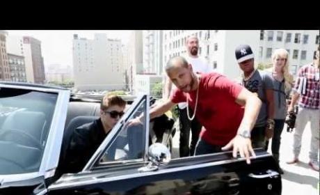 """Justin Bieber: Behind the Scenes of """"Boyfriend"""""""