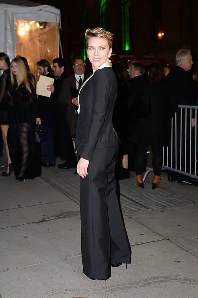 Scarlett Johansson Looks Smart