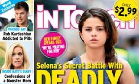 Selena Gomez Tabloid Cover