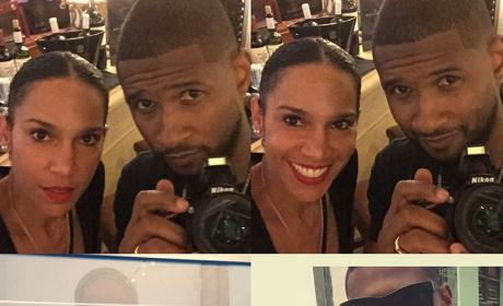 Usher and Grace Miguel: Married!