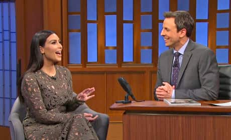 Kim on Late Night
