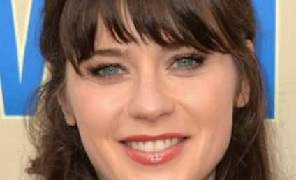 Zooey Deschanel With No Bangs: Whoa!