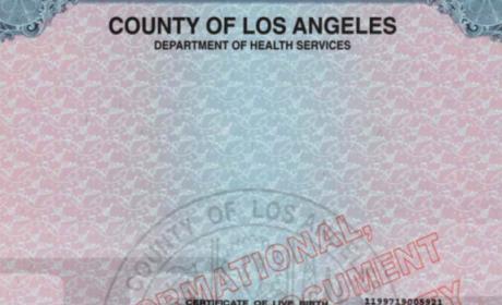 Michael Jackson Jr. Birth Certificate