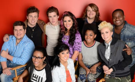 Which member of the American Idol top 10 put on the best performance?