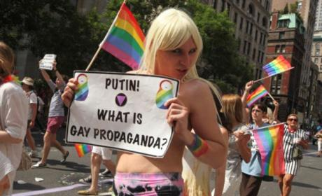 Russia Anti-Gay Law Passed