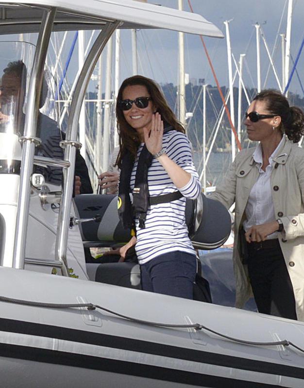Sail Away With Duchess Kate Middleton