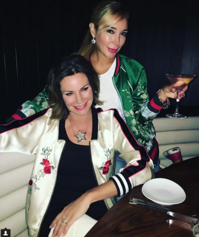 LuAnn DeLesseps and Marysol Patton Party It Up