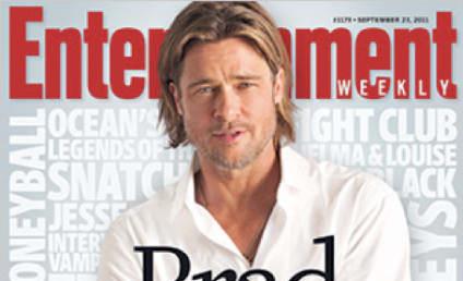 Brad Pitt Covers Entertainent Weekly, Talks Life