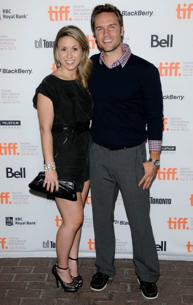 Scott Porter and Kelsey Mayfield