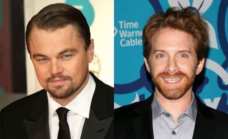 Leonardo DiCaprio and Seth Green
