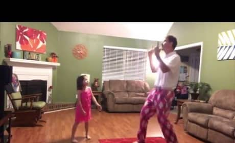 Daddy Dances with Daughter to Justin Timberlake, Wins the Internet