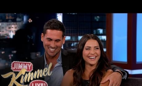 Andi Dorfman, Josh Murray on Jimmy Kimmel Live - He Called It!